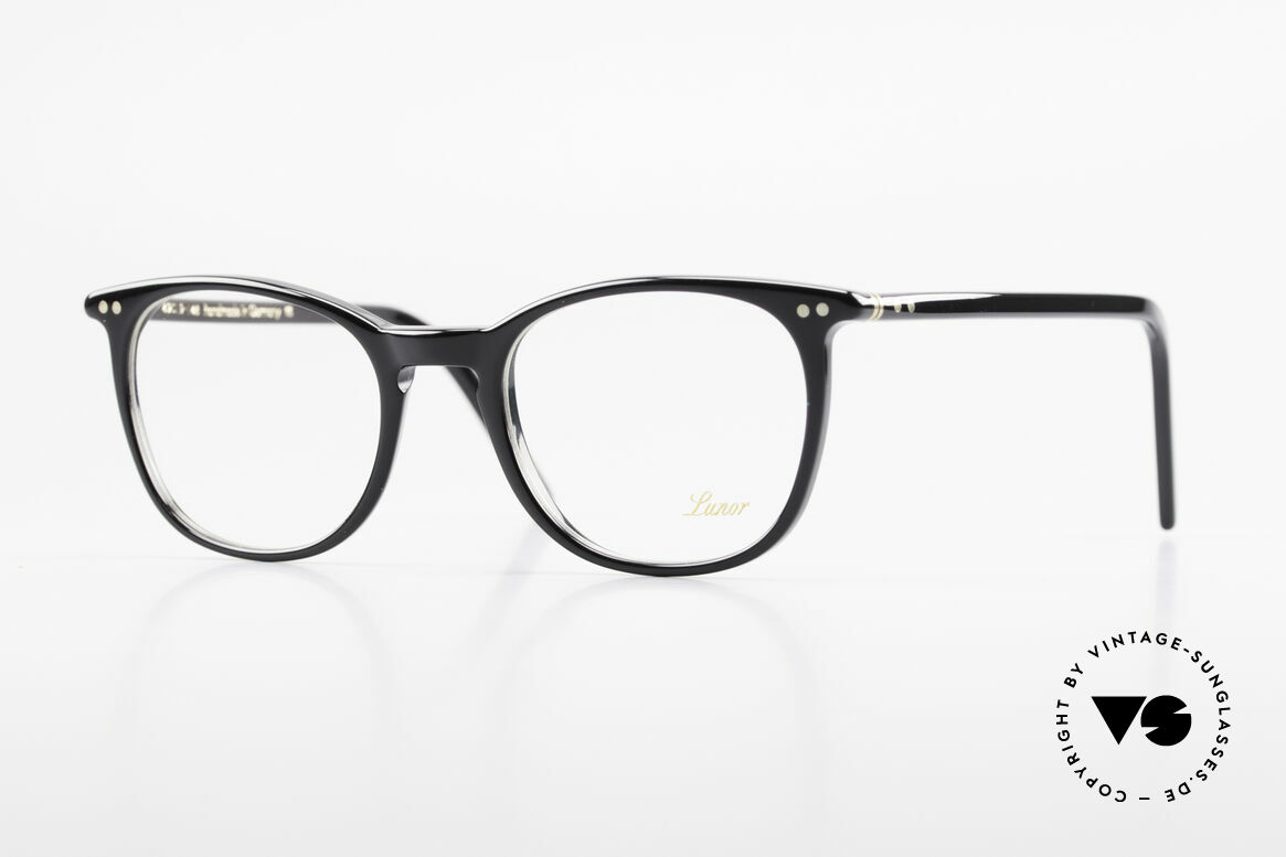 "Lunor A5 234 Classic Timeless Eyeglasses, LUNOR: shortcut for French ""Lunette d'Or"" (gold glasses), Made for Men and Women"