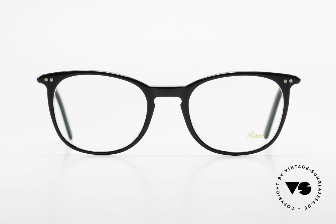 Lunor A5 234 Classic Timeless Eyeglasses, traditional German brand; quality handmade in Germany, Made for Men and Women
