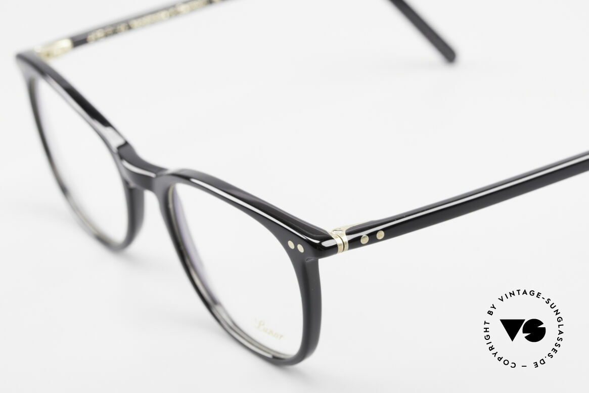 Lunor A5 234 Classic Timeless Eyeglasses, A5 Model 234, col. 01, size 49-19, 146 = a true CLASSIC, Made for Men and Women