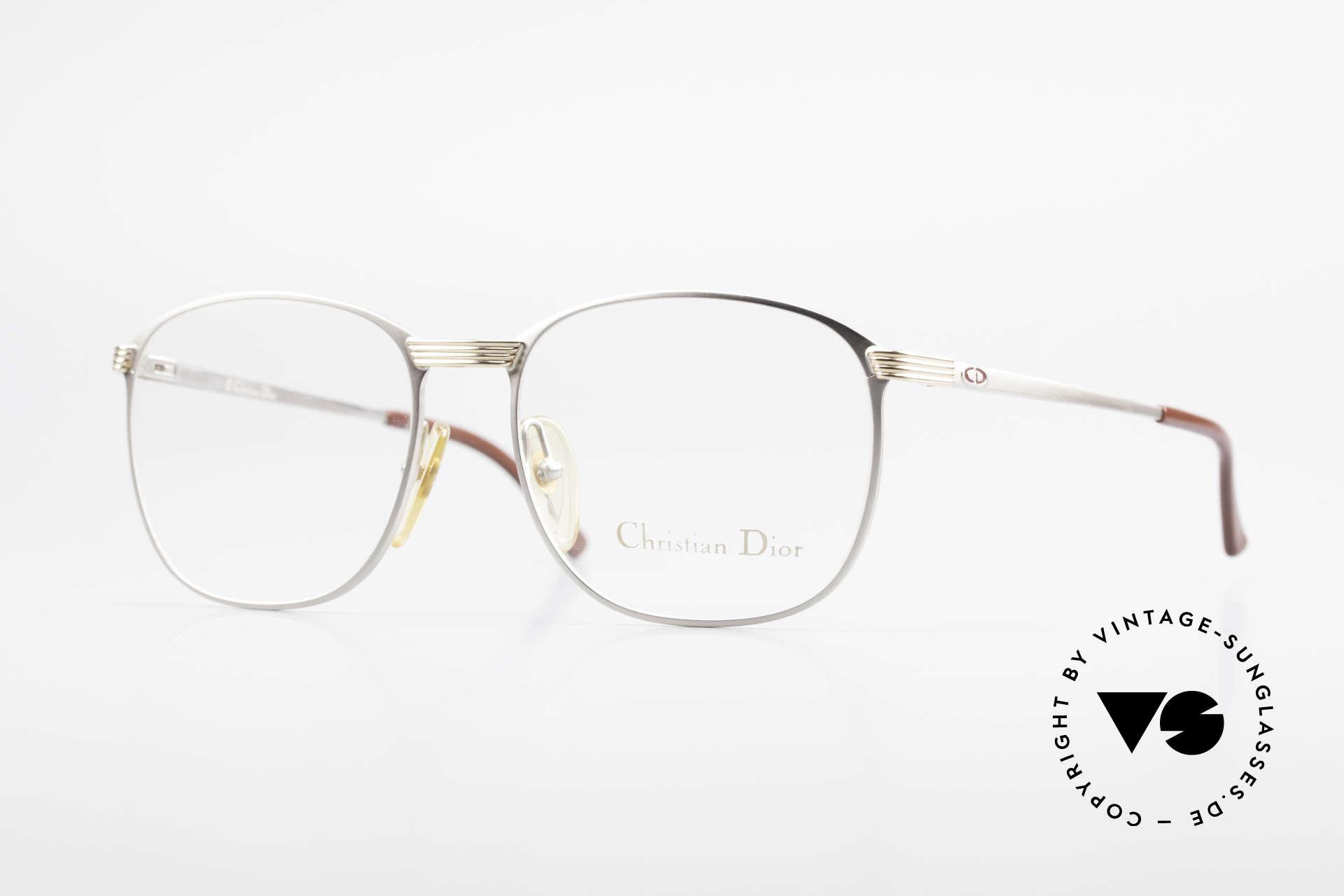 Christian Dior 2721 1980's Titanium Frame Men, classic 80's vintage eyeglass-frame by Christian Dior, Made for Men