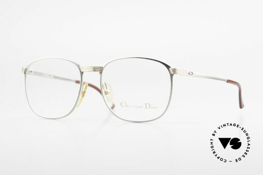 Christian Dior 2721 1980's Titanium Frame Men Details