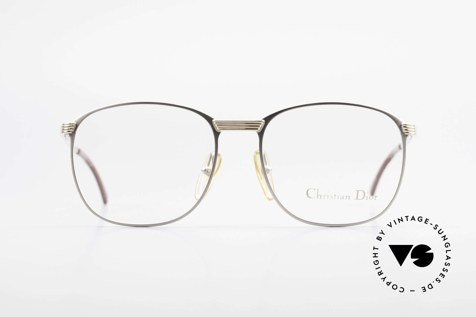 Christian Dior 2721 1980's Titanium Frame Men, very noble & unbelievable quality (U must feel this!), Made for Men
