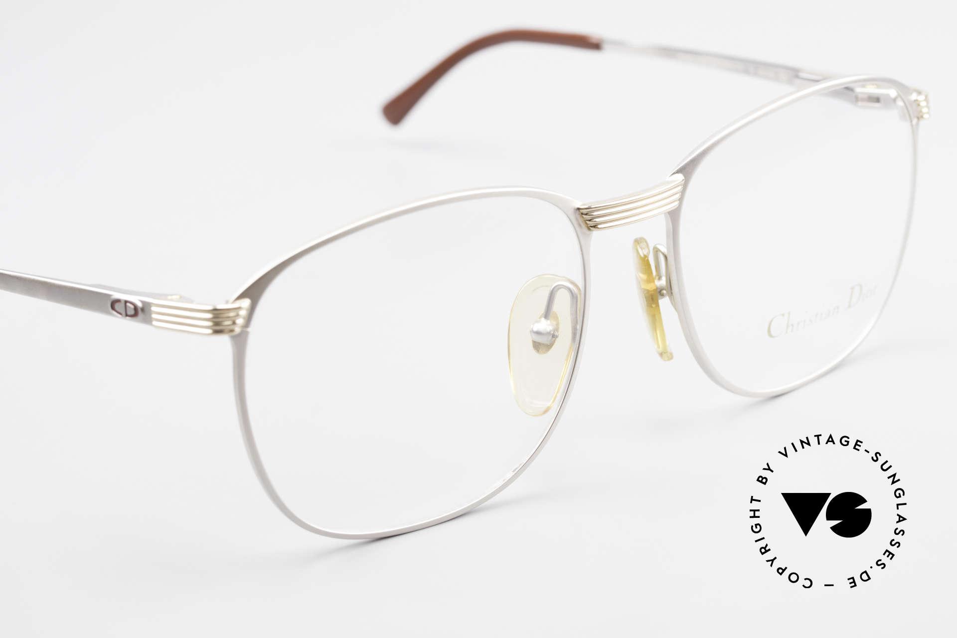 Christian Dior 2721 1980's Titanium Frame Men, NO retro eyeglasses; but a unique original from 1986!, Made for Men