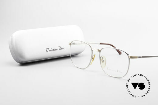 Christian Dior 2721 1980's Titanium Frame Men, demo lenses can be replaced with optical (sun) lenses, Made for Men