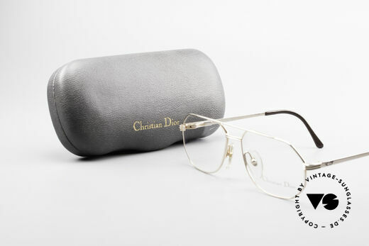 Christian Dior 2685 Classic 80's Frame For Men, demo lenses can be replaced with optical (sun) lenses, Made for Men