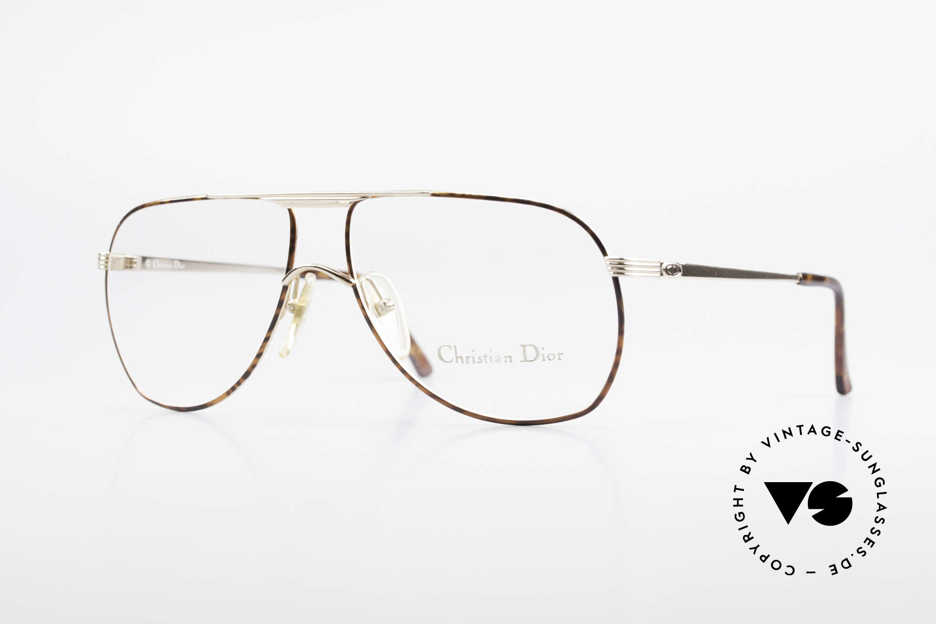 Christian Dior 2553 Vintage Glasses Aviator Style, awesome aviator eyeglasses by Christian Dior, Made for Men