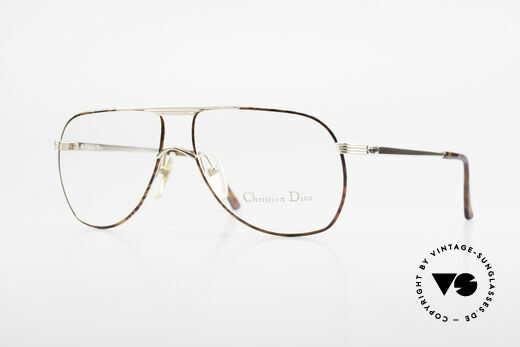 Christian Dior 2553 Vintage Glasses Aviator Style Details
