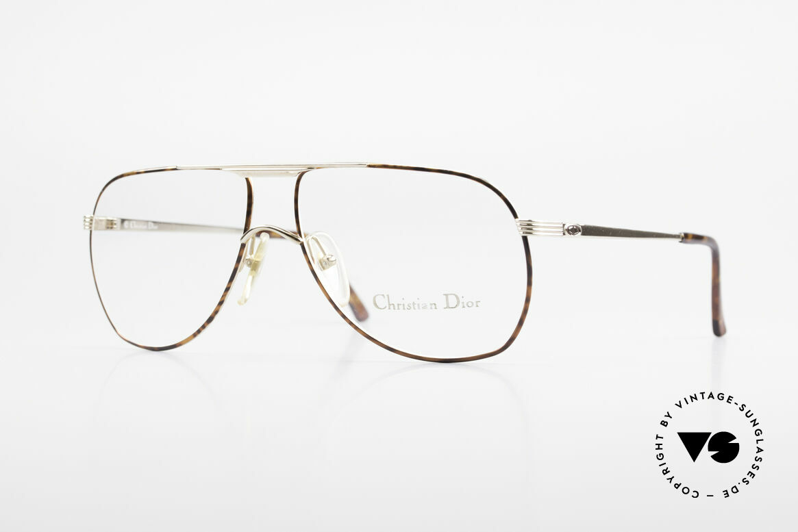 Christian Dior 2553 Vintage Glasses Aviator Style, awesome aviator eyeglasses by Christian Dior, Made for Men
