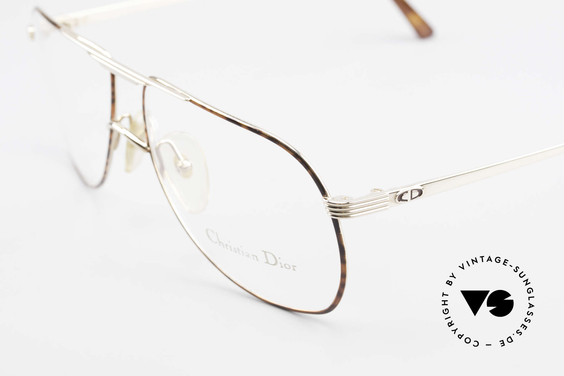 Christian Dior 2553 Vintage Glasses Aviator Style, never worn (like all our vintage Dior eyewear), Made for Men
