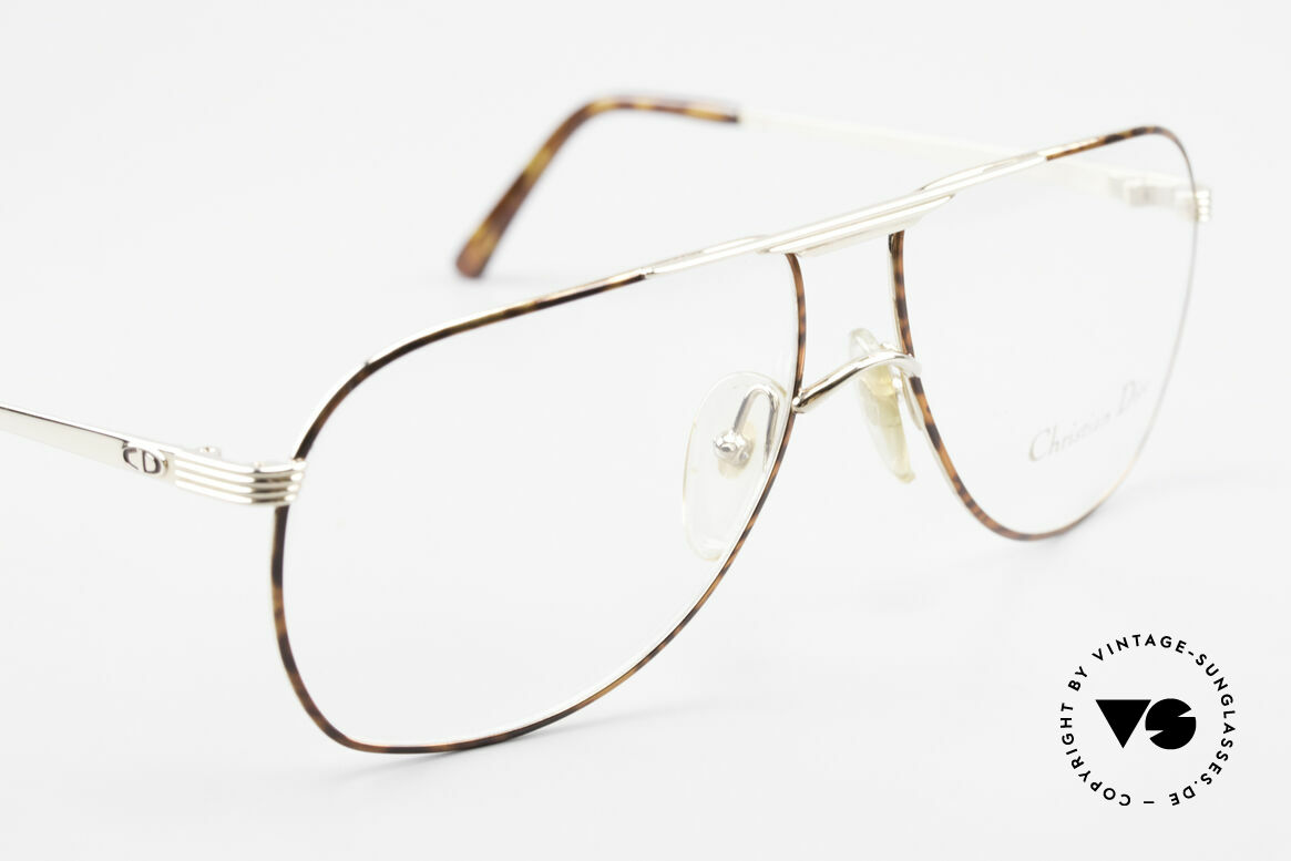 Christian Dior 2553 Vintage Glasses Aviator Style, NO retro specs, but an old original from 1989!, Made for Men