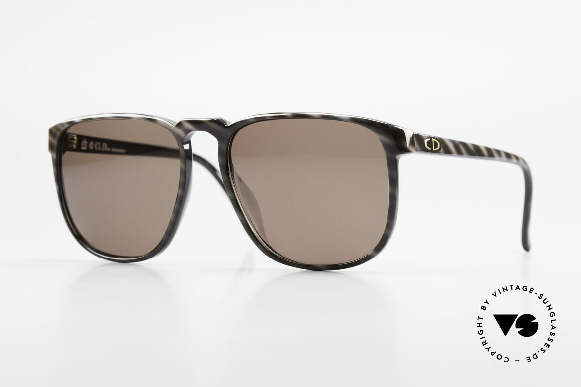 Christian Dior 2226 Monsieur 80's Optyl Shades, very masculine design by Christian Dior from 1983, Made for Men