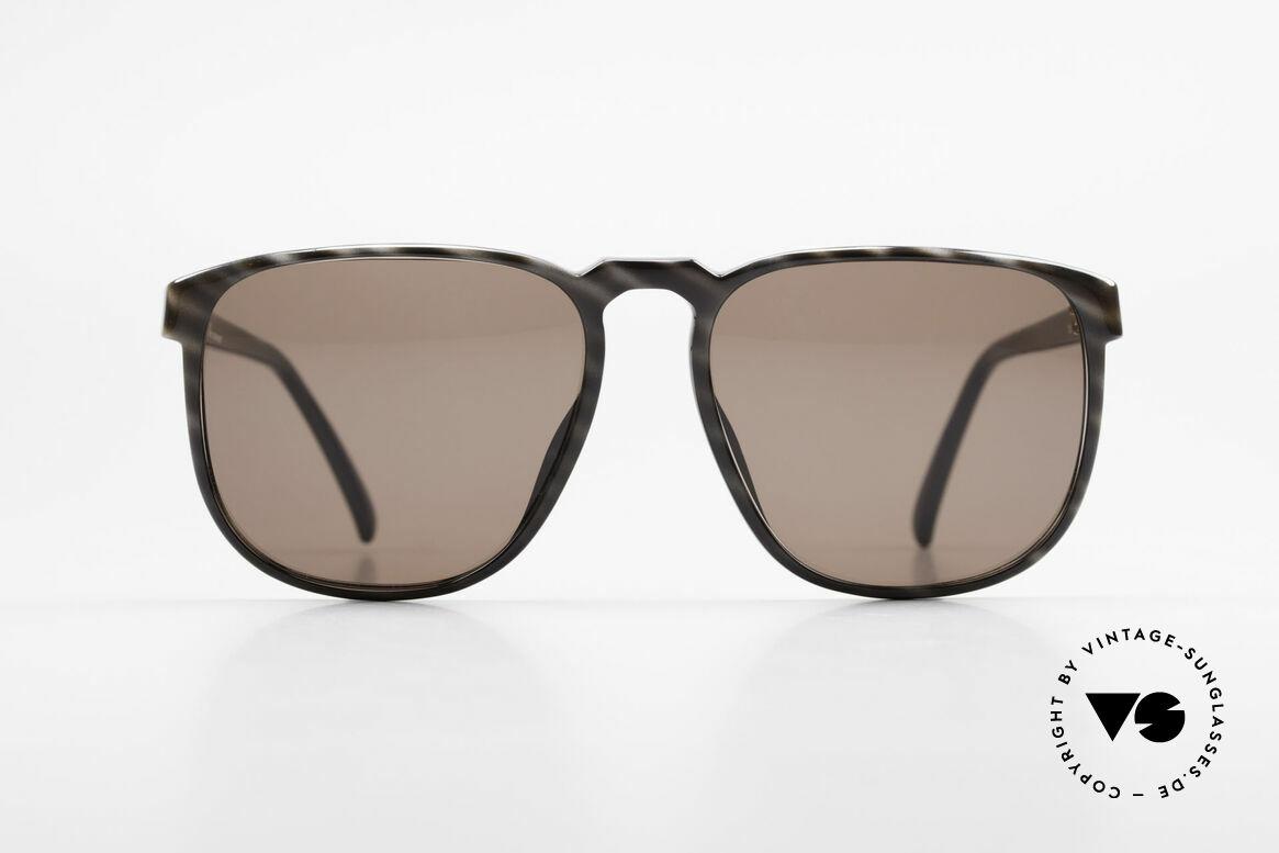 Christian Dior 2226 Monsieur 80's Optyl Shades, noble frame pattern in horn-black (Optyl material), Made for Men