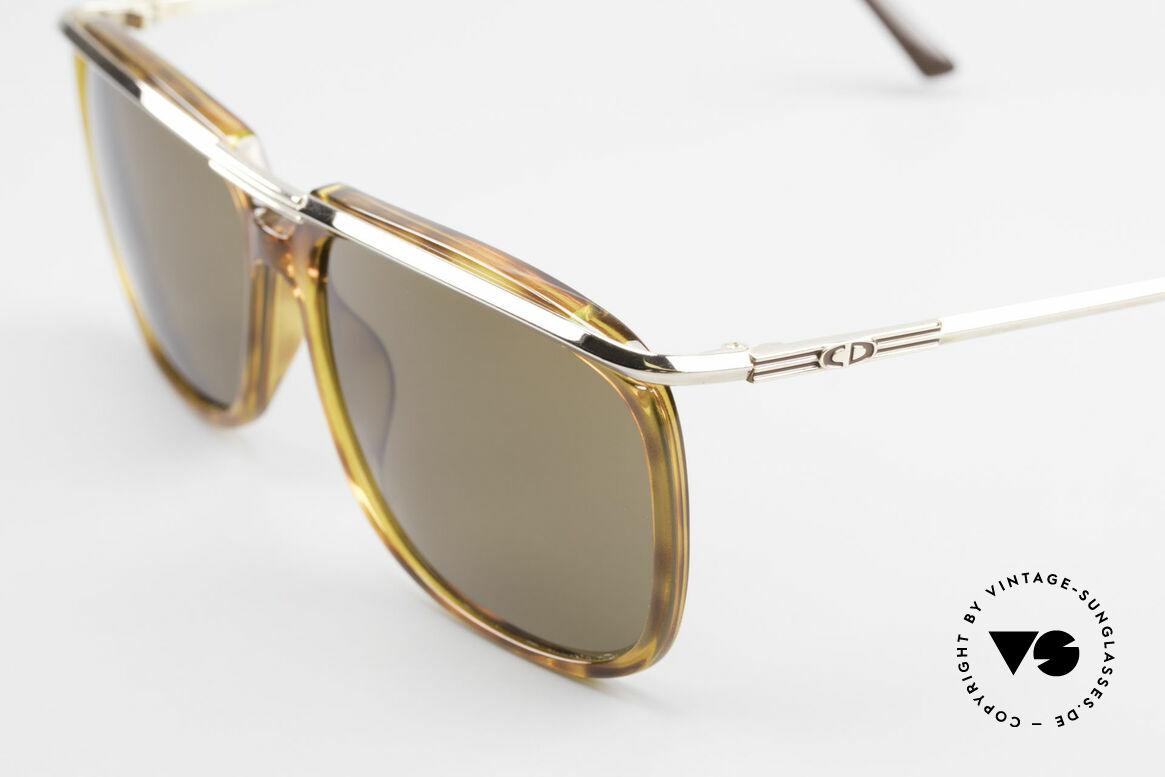 Christian Dior 2698 Old 90's Sunglasses For Men, brown mineral sun lenses for 100% UV protection, Made for Men