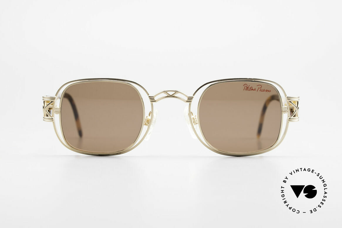 Paloma Picasso 8600 90's Vintage Ladies Sunglasses, Paloma is the youngest daughter of Pablo Picasso, Made for Women