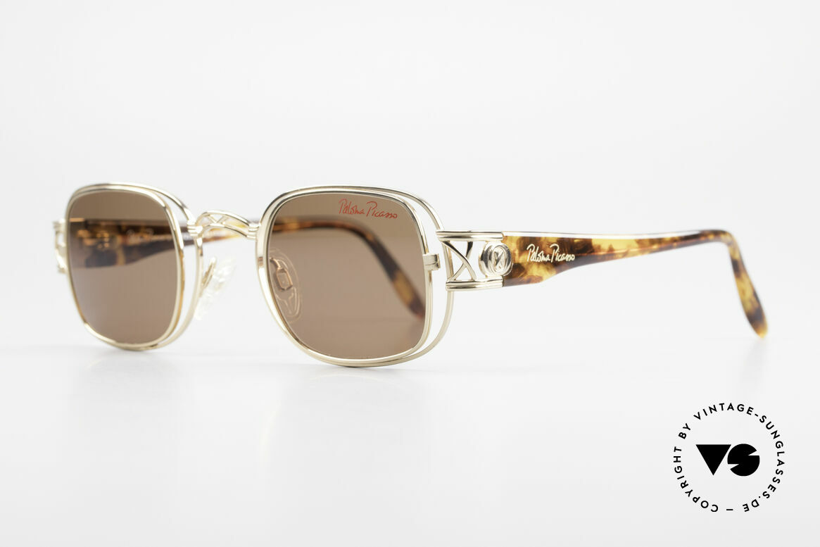 Paloma Picasso 8600 90's Vintage Ladies Sunglasses, charming 1990's frame in cooperation with Metzler, Made for Women