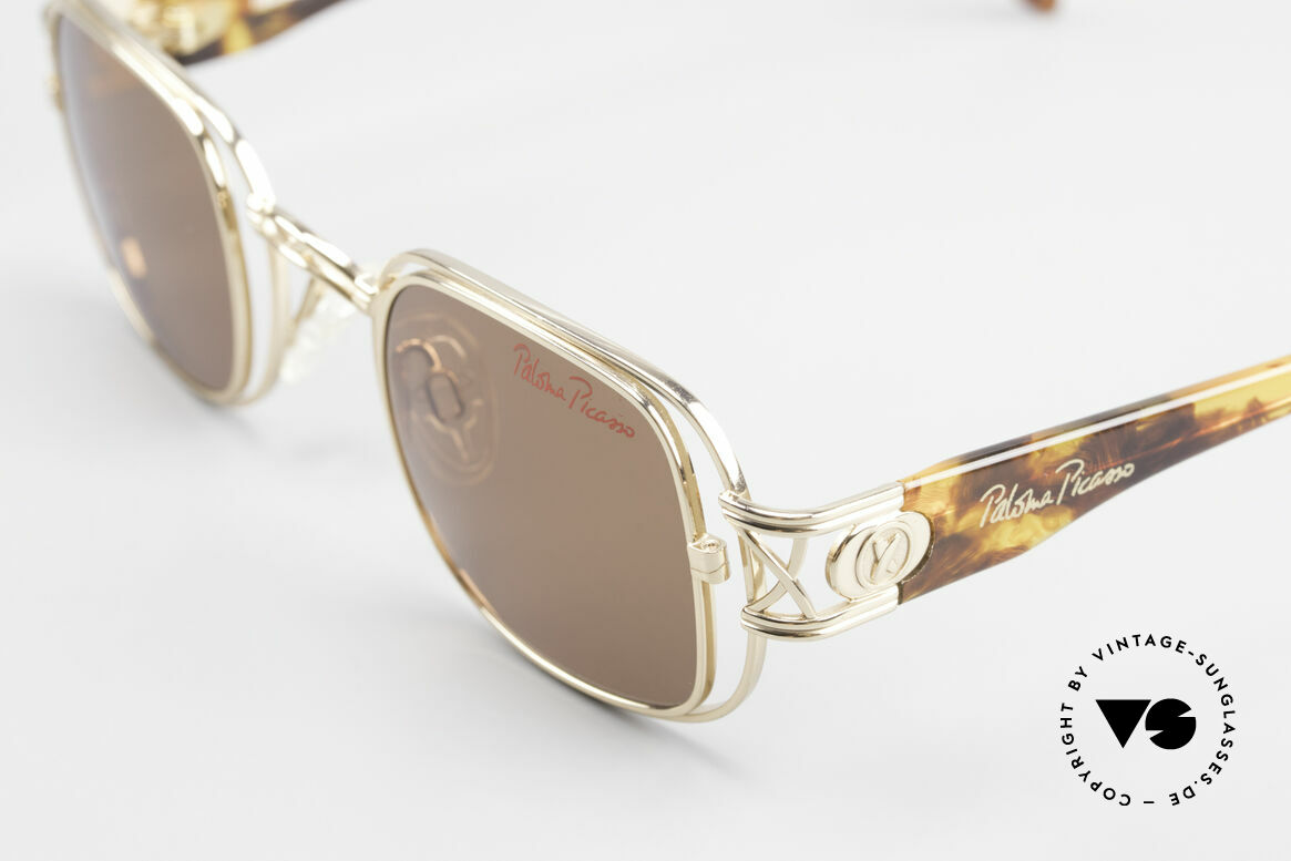 Paloma Picasso 8600 90's Vintage Ladies Sunglasses, NO RETRO SHADES, but a rare 20 years old original, Made for Women