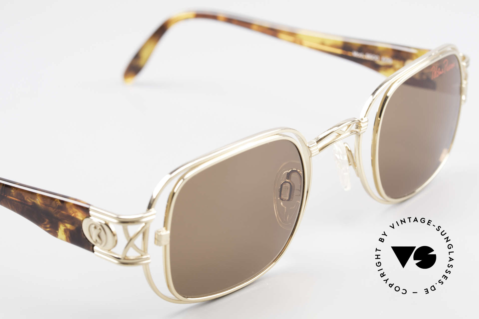 Paloma Picasso 8600 90's Vintage Ladies Sunglasses, sun lenses (100% UV) and with original Picasso case, Made for Women