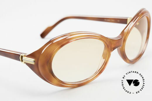 Cartier Frisson Ladies Luxury Sunglasses 90s, NO retro fashion, but a 20 years old original; unicum!, Made for Women