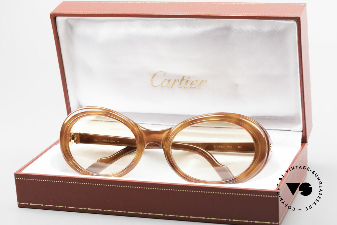 Cartier Frisson Ladies Luxury Sunglasses 90s, Size: small, Made for Women