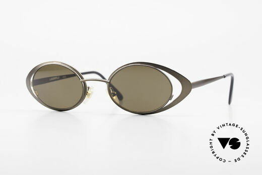Karl Lagerfeld 4136 Oval 90's Designer Shades Details