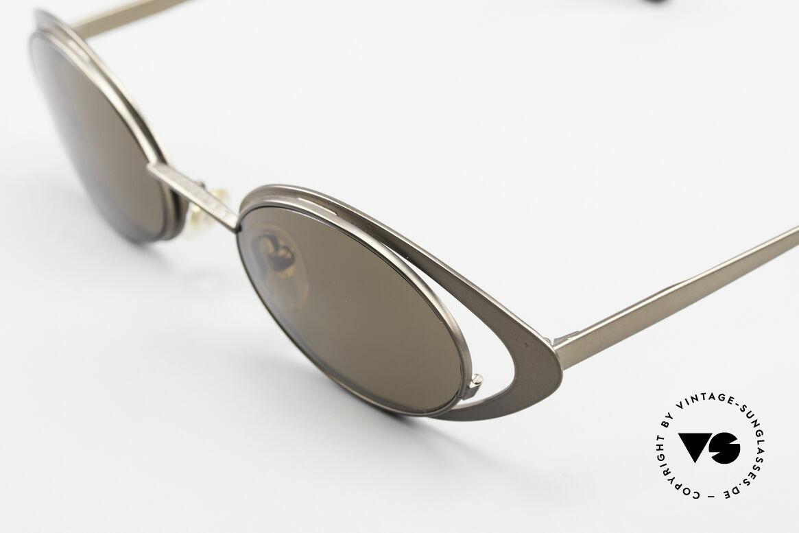Karl Lagerfeld 4136 Oval 90's Designer Shades, unworn (just like all our rare vintage designer frames), Made for Women