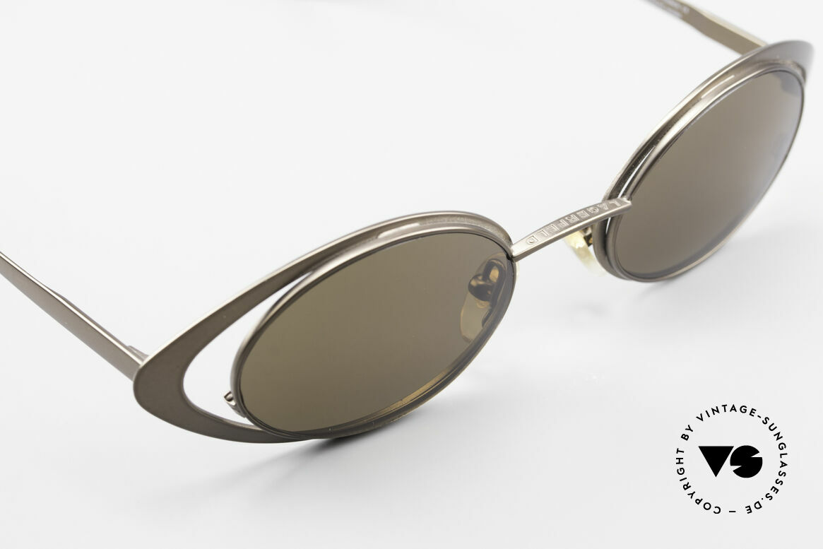 Karl Lagerfeld 4136 Oval 90's Designer Shades