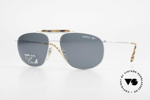 Lacoste 149 Titanium Sports Sunglasses Details