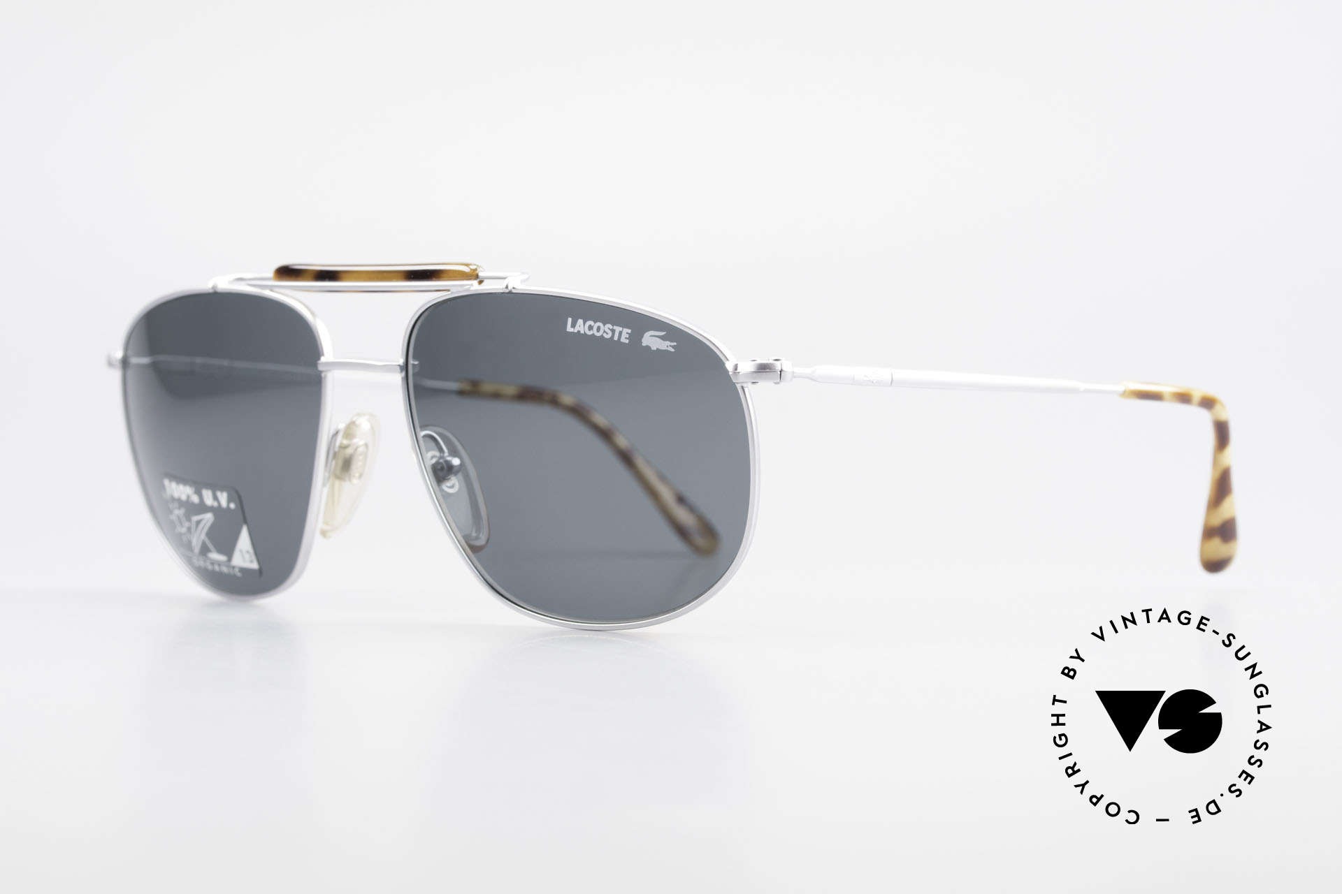 Lacoste 149 Titanium Sports Sunglasses, solidly built frame and very pleasant to wear!, Made for Men