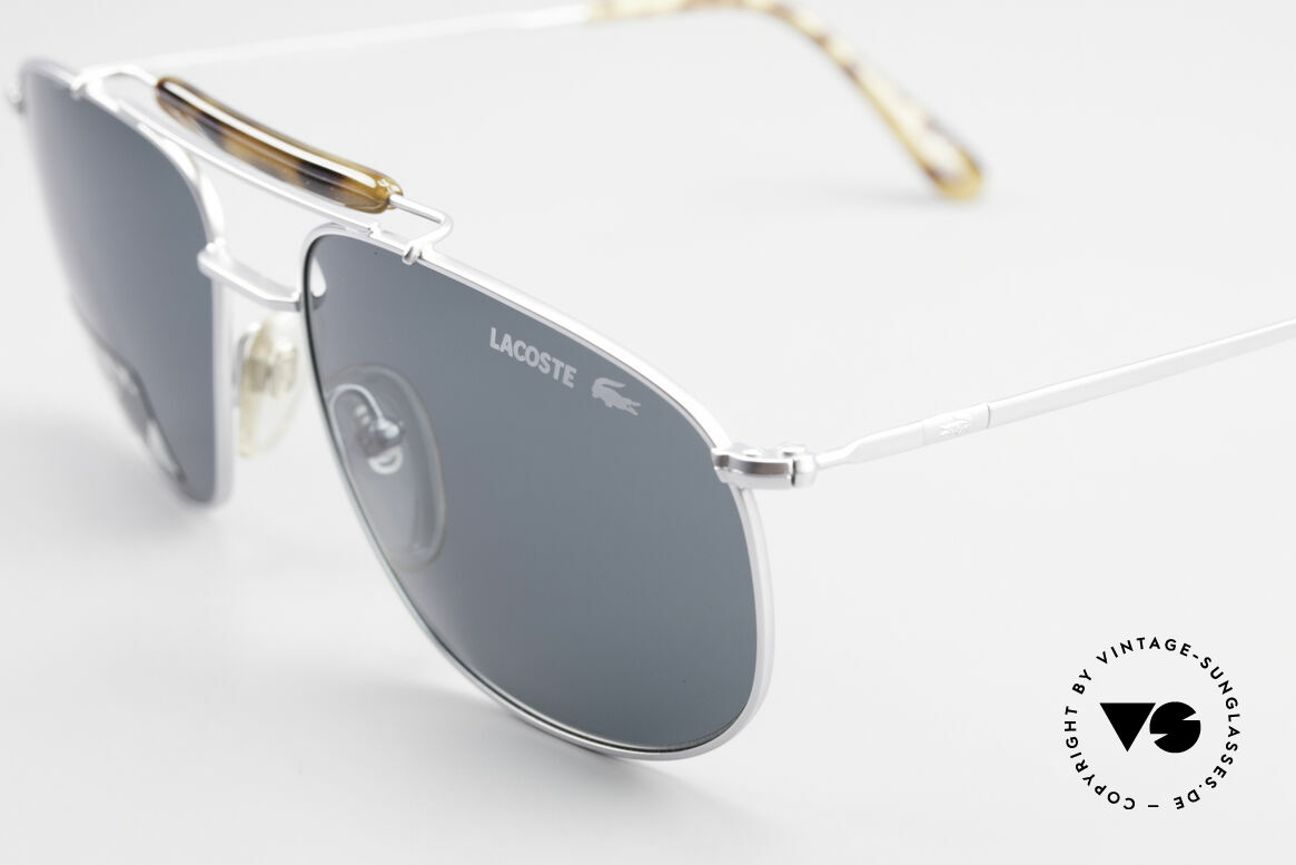 Lacoste 149 Titanium Sports Sunglasses, with Lacoste sun lenses for 100% UV protection, Made for Men