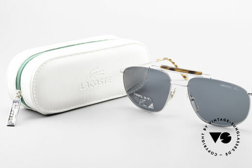 Lacoste 149 Titanium Sports Sunglasses, NO RETRO SHADES, but a 20 years old Original!, Made for Men