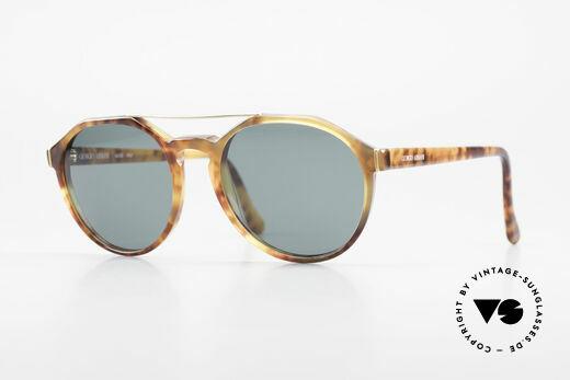 Giorgio Armani 311 Round Aviator 80s Sunglasses Details