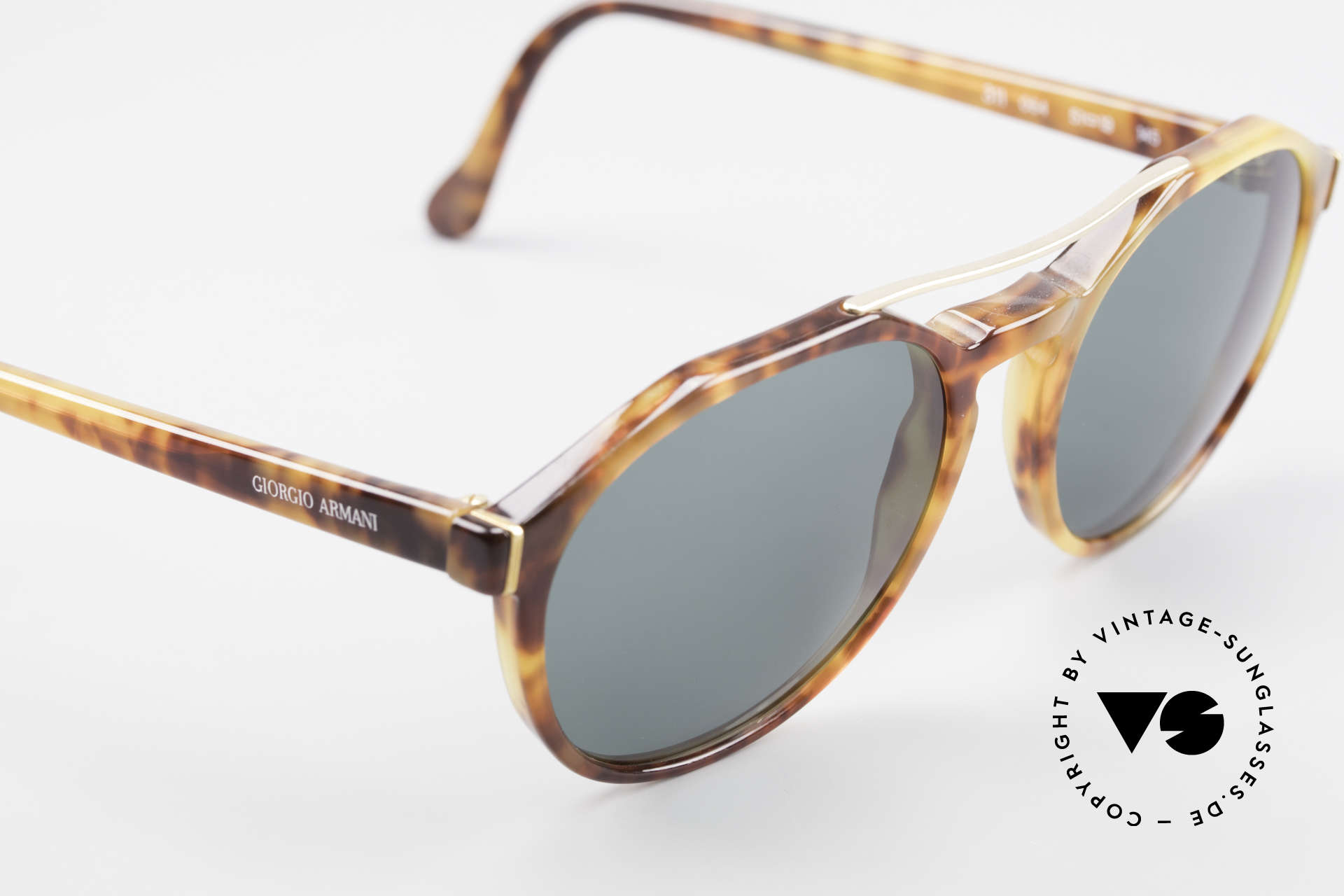 Giorgio Armani 311 Round Aviator 80s Sunglasses, NO RETRO sunnies, but a unique 30 years old ORIGINAL!, Made for Men and Women