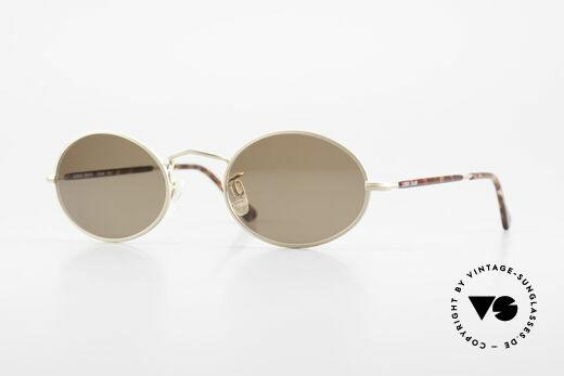 Giorgio Armani 128 Oval Sunglasses 90's Vintage Details