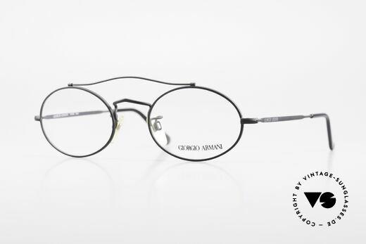 Giorgio Armani 115 90's Designer Eyeglasses Details