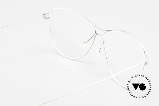 Lindberg Ditte Air Titan Rim Titanium Frame Ladies Aviator, simple & strong frame: free from screws, rivets & welds, Made for Women