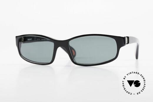 Bugatti 323 Odotype Rare Designer Sunglasses Men Details