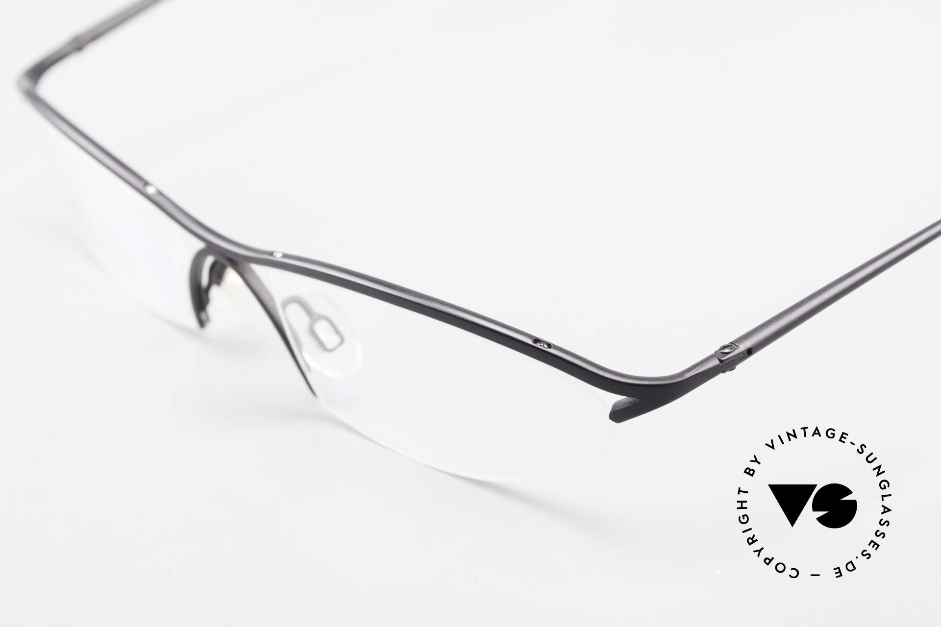 Bugatti 342 Odotype Nylor Frame Semi Rimless, a 20 years old original in unworn condition, Made for Men