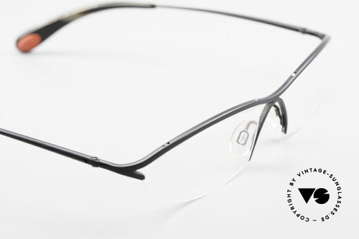 Bugatti 342 Odotype Nylor Frame Semi Rimless, frame is made for optical lenses / sun lenses, Made for Men