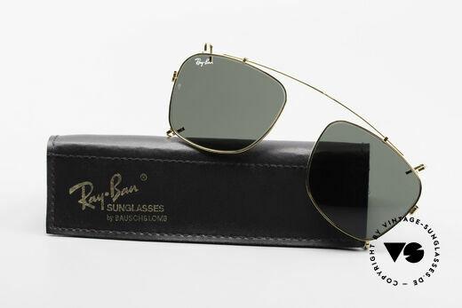 Ray Ban Wayfarer I Clip On B&L USA Mineral Sun Lenses Details