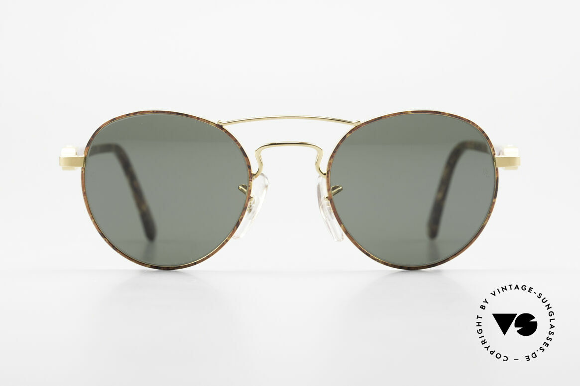 Ray Ban Chaos Round 90's B&L USA Shades W2005, classic unisex designer sunglasses from the mid 90's, Made for Men and Women