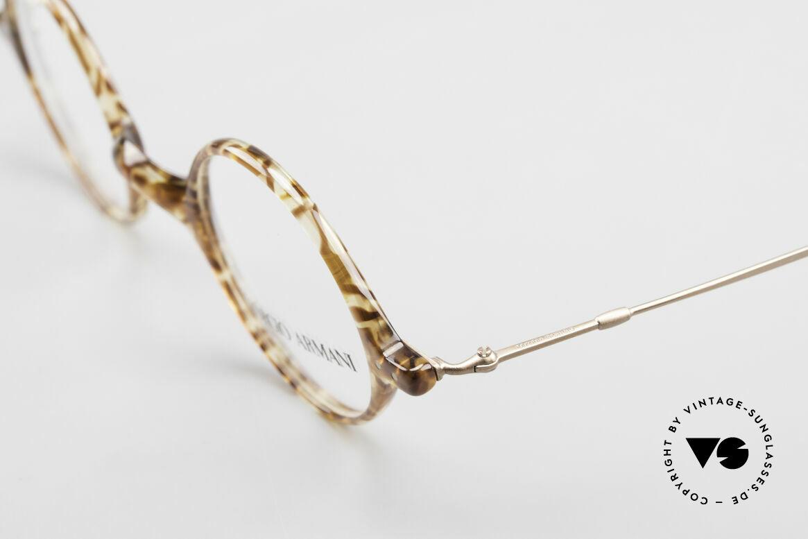 Giorgio Armani 365 Small Round Eyeglasses 90's