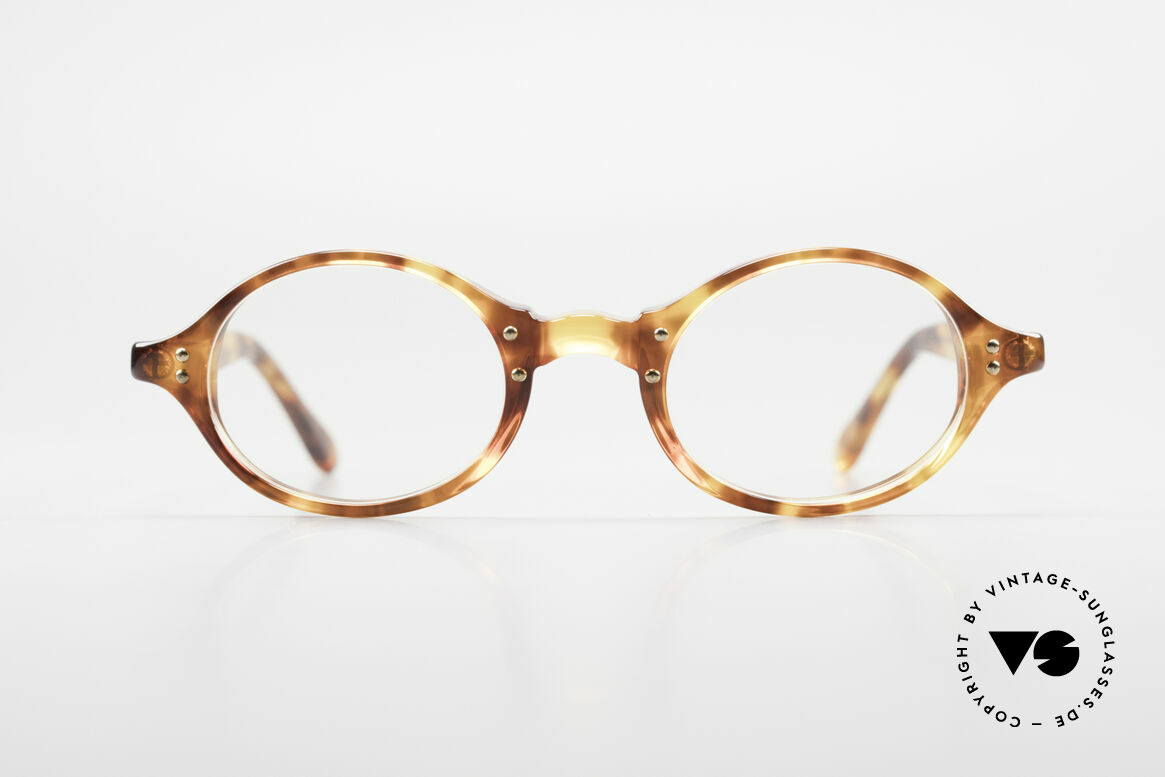 Giorgio Armani 342 Small Oval 90s Eyeglass-Frame, a true classic in design & coloring (timeless elegant), Made for Men and Women