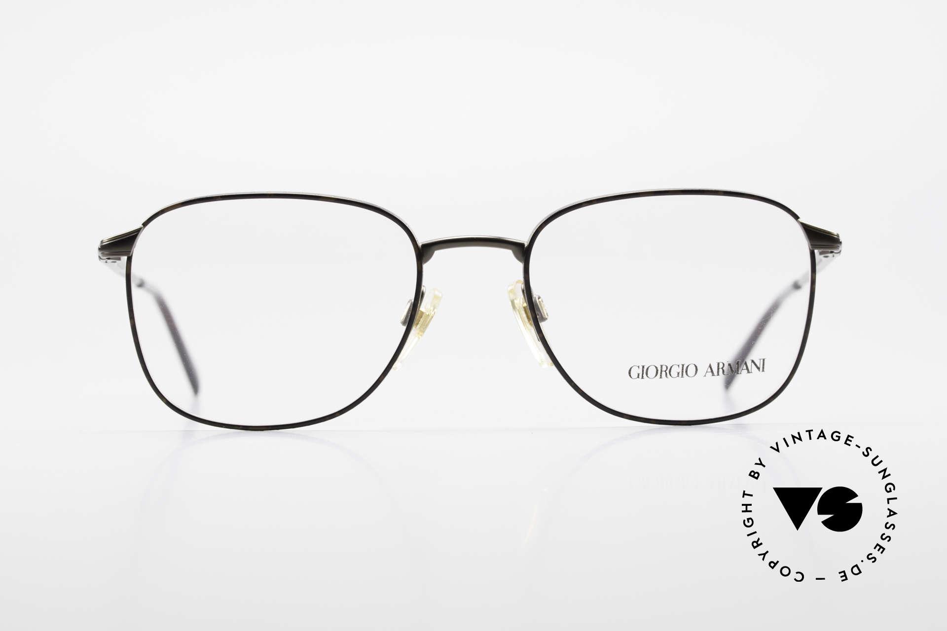 Giorgio Armani 236 Square Panto Vintage Frame, square 'panto' frame design .. a real eyewear classic, Made for Men