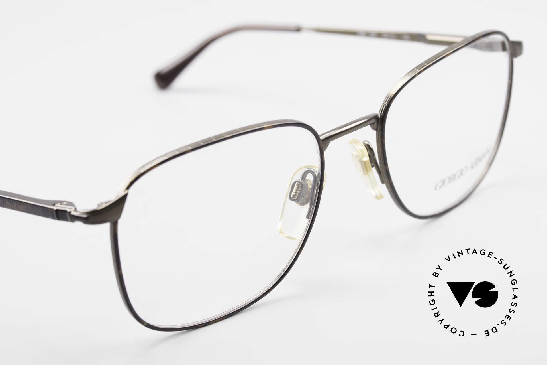 Giorgio Armani 236 Square Panto Vintage Frame, unworn (like all our vintage GIORGIO Armani frames), Made for Men