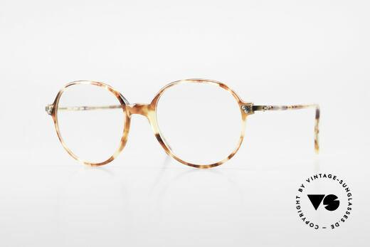 Giorgio Armani 334 Vintage Round Eyeglass-Frame Details