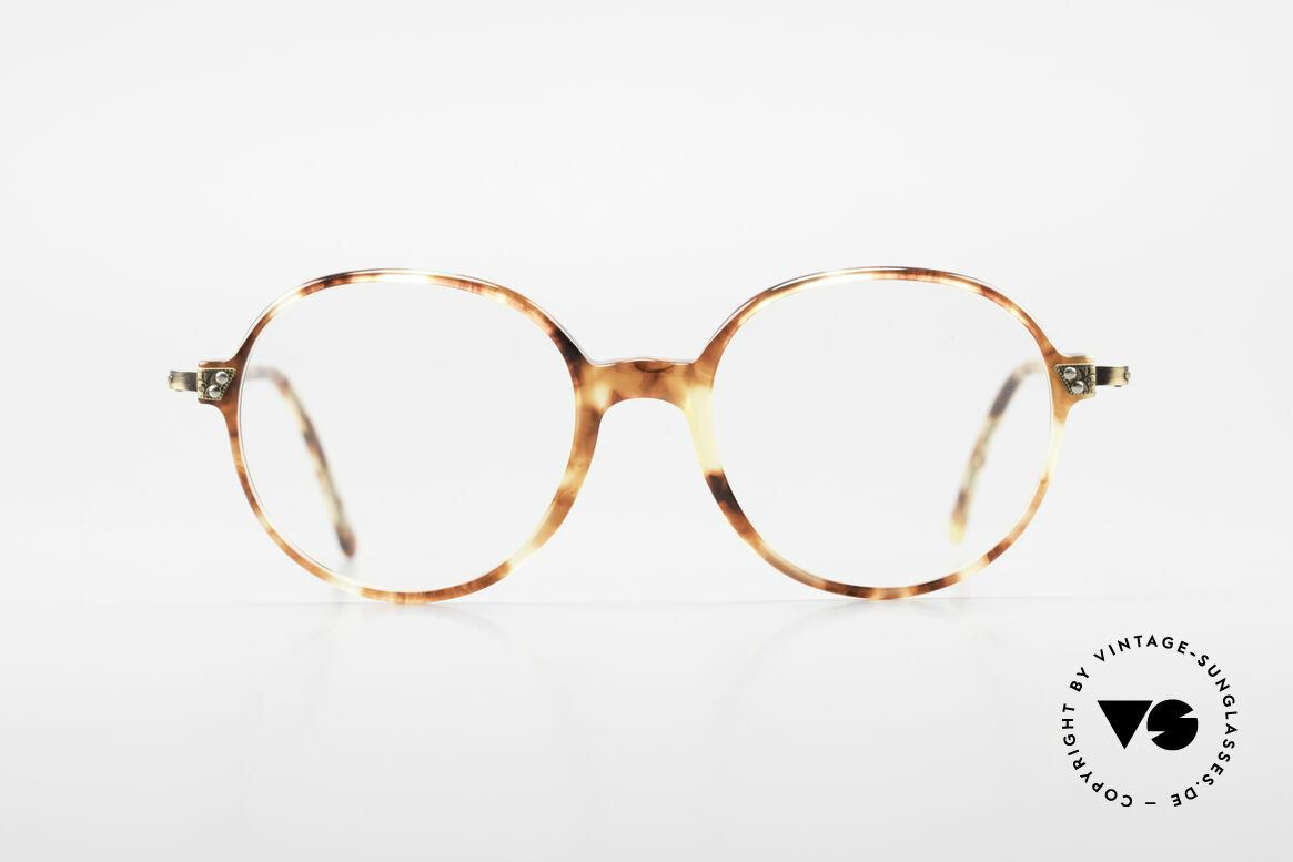 Giorgio Armani 334 Vintage Round Eyeglass-Frame, legendary & world famous 'round panto' frame design, Made for Men and Women