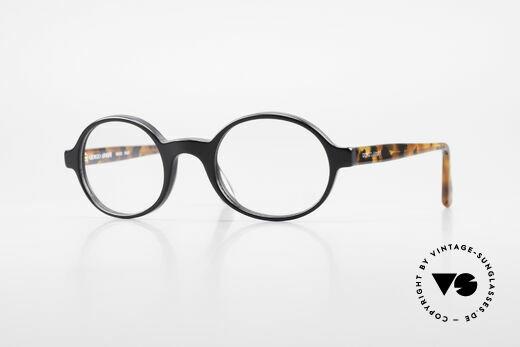 Giorgio Armani 308 Oval 80's Vintage Eyeglasses Details