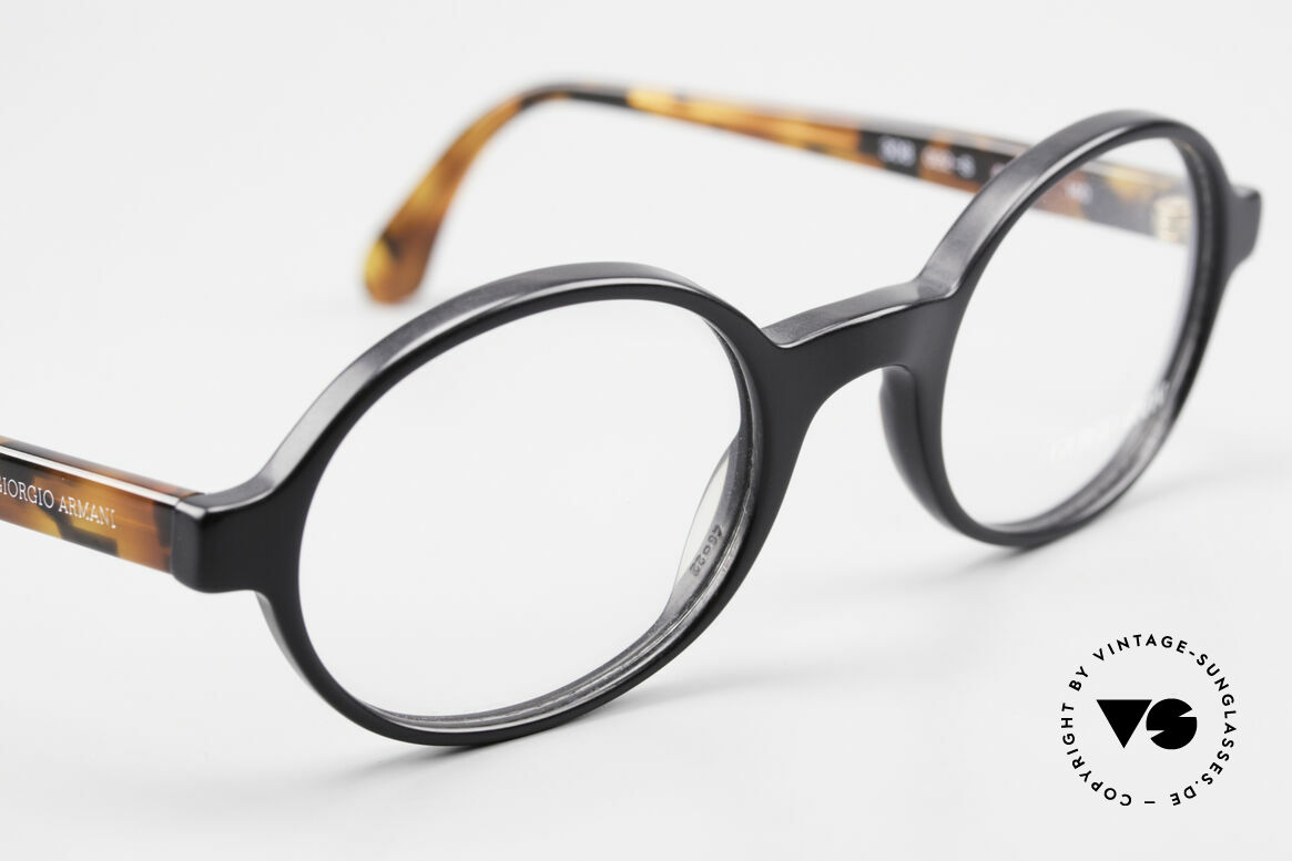 Giorgio Armani 308 Oval 80's Vintage Eyeglasses, NO retro specs, but a unique 30 years old ORIGINAL!, Made for Men and Women