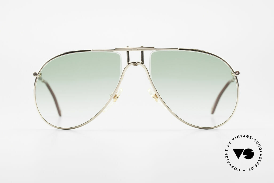 Aigner EA3 Rare 80's Vintage Sunglasses, noble modified 'aviator design' & elegant frame coloring, Made for Men