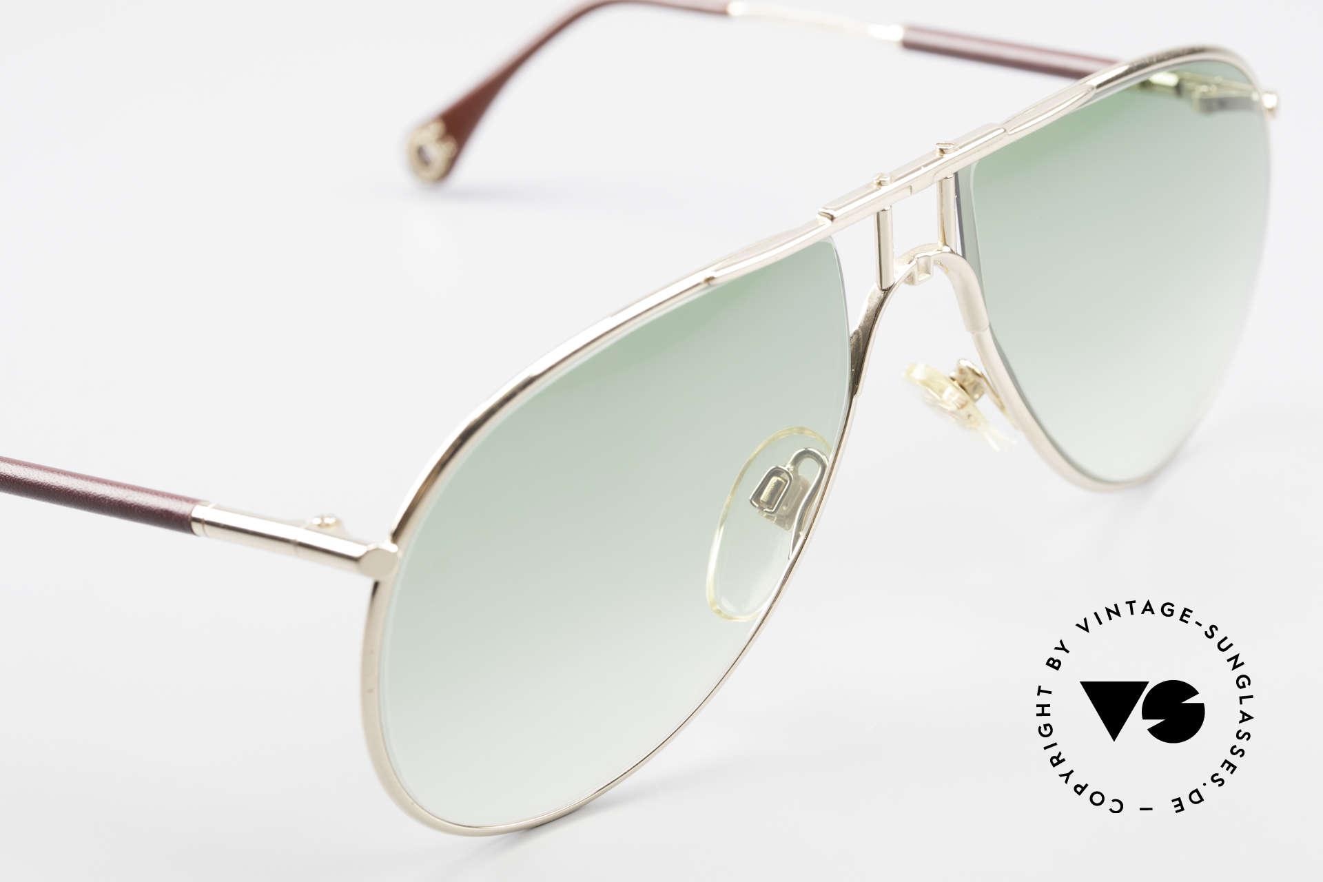 Aigner EA3 Rare 80's Vintage Sunglasses, unworn (like all our rare 80's Aigner sunglasses) + pouch, Made for Men